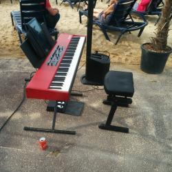 Jazz band en extérieur